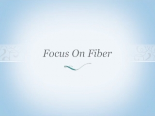 Focus On Fiber