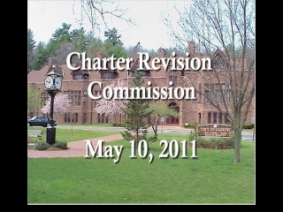 Charter Revision Commission Meeting